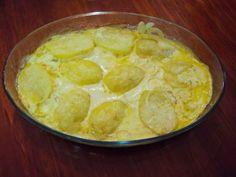 Imagem da receita Filé de merluza assado com leite de coco