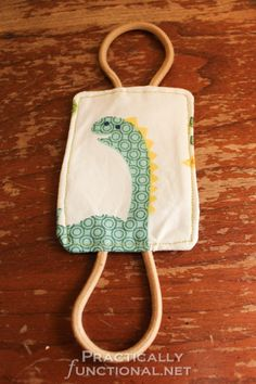 Make your own nursery door latch cover so you don't wake the baby when you shut the door! Perfect baby shower gift!
