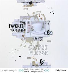 Layout mit dem #dpMärzkit16 von Anke Kramer für www.danipeuss.de #mixedmedia add on