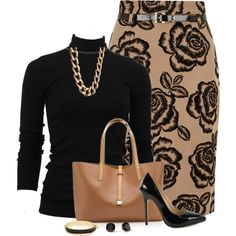 A fashion look from August 2013 featuring black shirt, Dorothy Perkins and platform pumps. Browse and shop related looks.