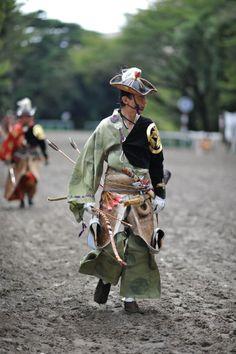 Yabusame – Horse Archery. (Minus the horse)