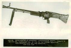 Machine Gun, Light Caliber .30, T52 with T65E1 Ammunition