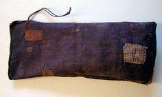 "Carry History SriThreads ""KakiShibu"" utilitarian bag - colour from green persimmon juice (kaki shibu)"
