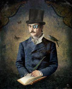 'Darwin's Diary' von Christian  Schloe bei artflakes.com als Poster oder Kunstdruck $20.79