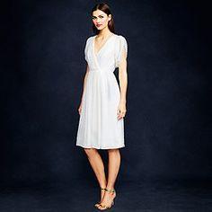 Simple, pretty. Like the fabric a lot Hawkins dress in swiss-dot