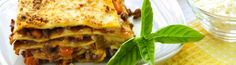 This style of lasagna is called a white lasagna because it is made with a white sauce instead of a tomato sauce. Fat-free mozzarella is a good option here because it helps to hold the lasagna together and has no saturated fat. Dried Mushrooms, Porcini Mushrooms, Stuffed Mushrooms, White Lasagna, Mushroom Lasagna, No Noodle Lasagna, White Sauce, Fennel Seeds, Turkey Breast