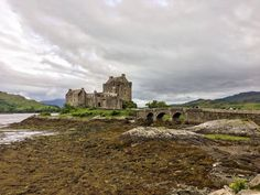 Eilean Donan Castle and that epic attached stone passage.