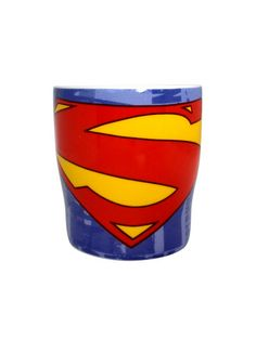 SUPERMAN LOGO MUG - Now sip your coffee in Superhero style. !! Capacity of the Superman Logo Mug would be 200ml.