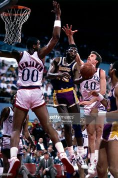 Los Angeles Clippers, Los Angeles Lakers, Nba, James Worthy, Basketball Legends, The Past, Fotografia
