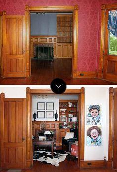 Before & After: The Drooz Studio Farmhouse | Design*Sponge