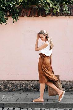Wrap linen skirt SEVILLE. High-waist linen skirt. Midi linen   Etsy The Pure, Crossover, Dress Skirt, Midi Skirt, Shirt Skirt, Wrap Clothing, Linen Skirt, Long Sleeve Tunic, Suits