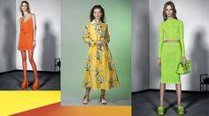 Cores cítricas: Moda primavera-verão 2016