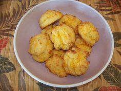 Coconut Flour Garlic Cheese Biscuits #LowCarb #GlutenFree