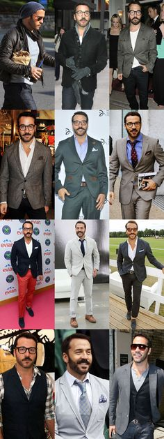 Style Profile: Jeremy Piven ... I think my laptop just overheated ;) Love me some Jeremy :) -sr