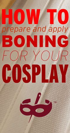 Tutorial: using different types of boning for your cosplay, from the Cosplayer blog by McCall's
