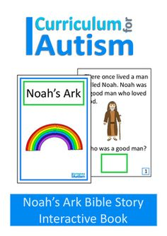 {50% off 48hrs} Noah's Ark Bible Story Interactive Adapted Book, Autism, Sped