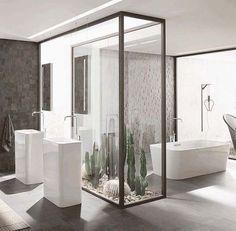 own your morning // bathroom // city life // city suites // urban living // urba. own your morning // bathroom // city life // city suites // urban living // urban men // luxury life // Interior Garden, Bathroom Interior Design, Bad Inspiration, Bathroom Inspiration, Beautiful Bathrooms, Modern Bathroom, Minimalist Bathroom, Small Bathroom, Interior Minimalista
