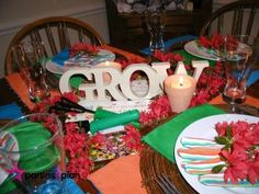 Tablescape: Earth Day Gardening Tablesetting | Parties2Plan