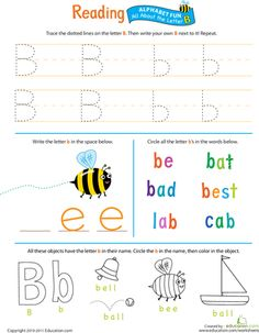 Getting ready to read! One sheet for each letter of the alphabet. Repinned by SOS Inc. Resources.  Follow all our boards at http://pinterest.com/sostherapy  for therapy resources.