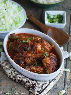 African Chicken Stew