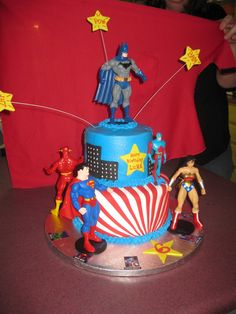The Original Justice League | The Justice League — Children's Birthday Cakes