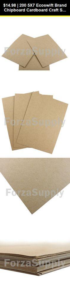30 8 5x11 Ecoswift Brand Chipboard Cardboard Craft Scrapbook