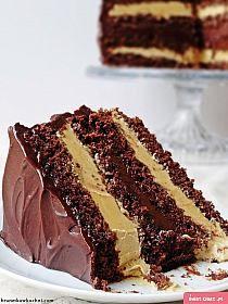 A decadent chocolate fudge cake … – pastry types Polish Desserts, Polish Recipes, Decadent Chocolate Cake, Chocolate Toffee, Cheesecake Recipes, Dessert Recipes, Toffee Cake, Bulgarian Recipes, Different Cakes