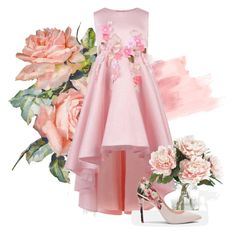 """""""baby pink flower"""" by lzbthnadila on Polyvore featuring Monsoon, Home Decorators Collection and Ted Baker"""