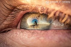 Eye reflection photos by Peter Adams-Shawn