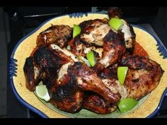 Recipe for making jerk chicken at home on your grill. Typically grilled on pimento wood in Jamaica, this jerk chicken recipe will surely become a favorite of...