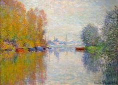 Autumn on the Seine at Argenteuil, 1873