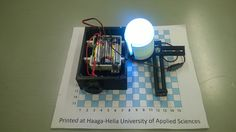 Lighting built from a LED lamp