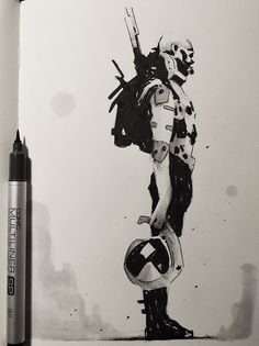 ArtStation - INK_SELECTION_2015 _16, Alexander J