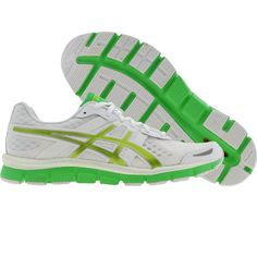Asics Womens Gel-Blur 33 (white / kiwi / apple green) T1H8N-0189 - $84.99