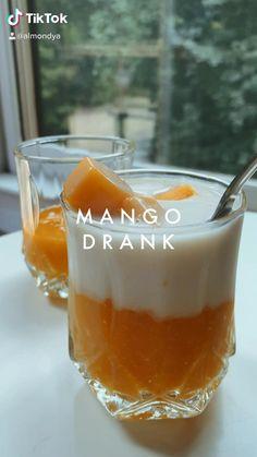 Yummy Drinks, Healthy Drinks, Yummy Food, Fruit Smoothie Recipes, Smoothies, Rainbow Food, Cafe Food, Aesthetic Food, Diy Food