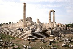 Didyma was an ancient Ionian shrine which is today known as Didim in Turkey.