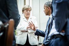 Instagram media by bundeskanzlerin - Bundeskanzlerin Angela #Merkel unterhält…