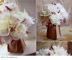 Aunt Peaches: Friday Flowers: Centerpieces for $3 in 5 Minutes