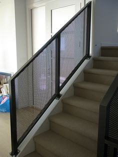 Mesh Aluminum Interior Railing | Flickr - Photo Sharing!