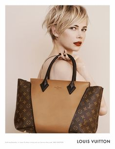 Michelle Williams: The New Face Of Louis Vuitton, Ads Featuring The W Bag