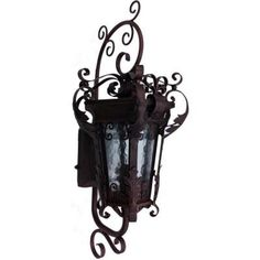 trento wall mount 101 outdoor wrought iron led light at the home depot