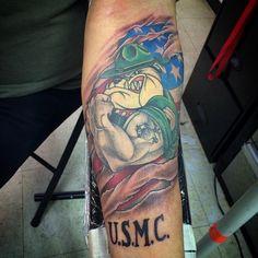 cool Top 100 usmc tattoos - http://4develop.com.ua/top-100-usmc-tattoos/ Check more at http://4develop.com.ua/top-100-usmc-tattoos/