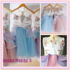 PREORDER II Unicorn Birthday Dress