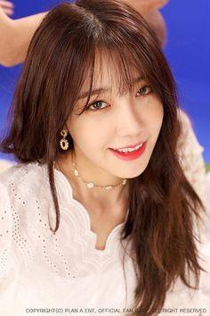 Eun Ji, Kpop Girl Groups, Korean Girl Groups, Kpop Girls, The Most Beautiful Girl, Beautiful Person, Eunji Apink, Strawberry Hair, Pink Panda