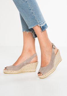76454585dfe3 BASIC - Platform sandals - gris   Zalando.co.uk 🛒