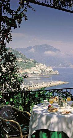 Hotel Santa Caterina ~ Amalfi, Italy