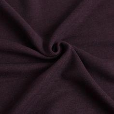 Plum Stretch Wool-Rayon Jersey Fabric by the Yard | Mood Fabrics