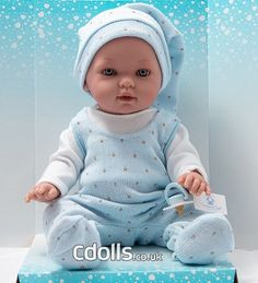 Tonino doll Your Favorite, Pajamas, Dolls, Face, How To Wear, Blue Nails, Pjs, Baby Dolls, Puppet