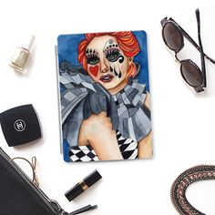 #Harlequin - Photo #Cover #apple #artcovers #watercolor #heaven7 #casetify #circus #arlequin