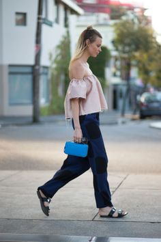 Spring and summer street style fashion